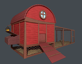 3D model Asset - Cartoons - Farm - Hencoop