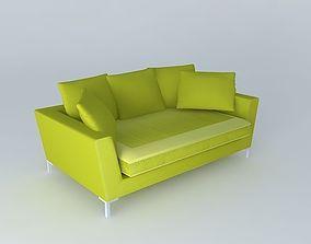 3D model Dublin the sofa houses of the world