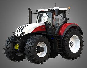 Terrus CVT - 6300 Tractor 3D model