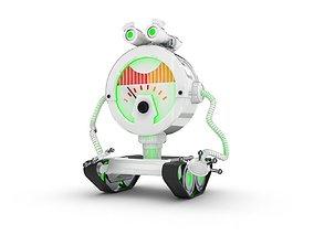 Funny Robot Character 3D model