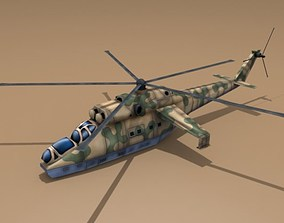 Mi-24 Hind 3D asset