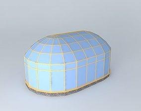Winter garden 4 3D model
