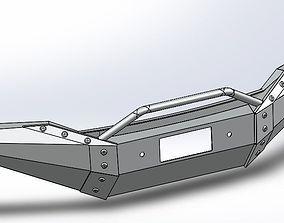 3D Tundra Front Bumper
