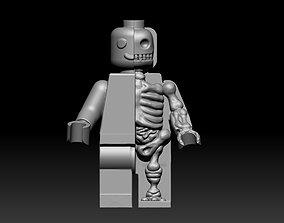 Minifigure Anatomy Look 3D model