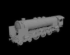 3D model locomotive
