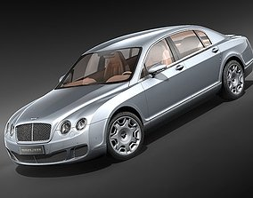 Bentley Continental Flying Spur Speed 2009 3D Model