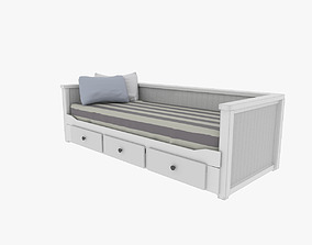 3D model game-ready Day Bed Sofa