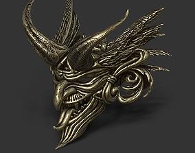3D printable model Gold dark 001