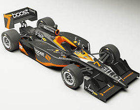 3D INDYCAR Dallara 2009 2 versions