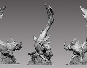 Sea Lion - 3D printable character 3D print model
