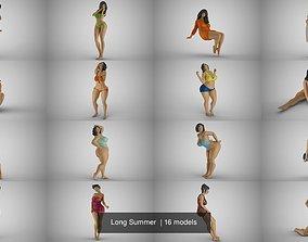 Long Summer 3D model