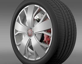 3D model Fiat Ducato Van L2H2 wheel