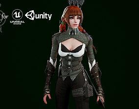 3D model Archer Sofia