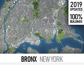 Bronx - New York 3D model