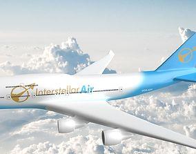 games-toys Boeing 747-400 3D print model