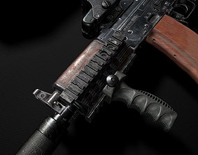 3D asset Tactical grip