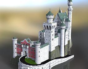 Neuschwanstein Castle for DAZ Studio 3D model
