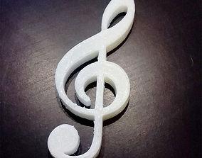 Chiave di Violino 3D print model
