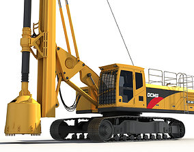 Rotary Drilling Rig 3D model