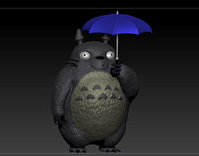 3D print model figurines Totoro - Umbrella