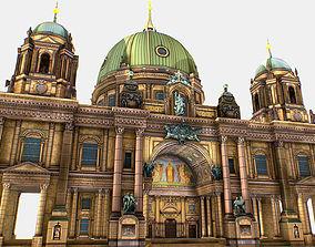 Berlin Cathedral German Berliner Dom 3d realtime