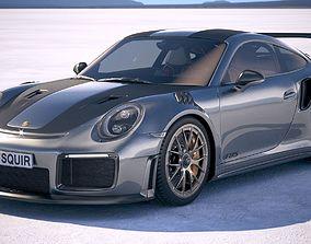 Porsche 911 GT2RS 2018 3D model