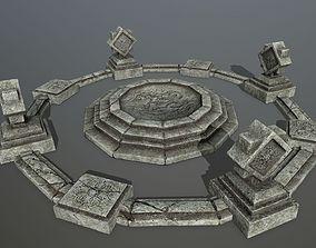 3D model temple 5