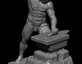 Hephaestus Greek God 3D print model