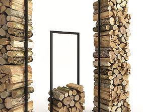 3D model Firewood Set 2