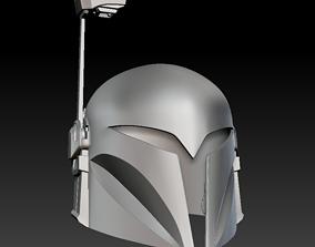 Bo-Katan The mandalorian version helmet ready for 3d