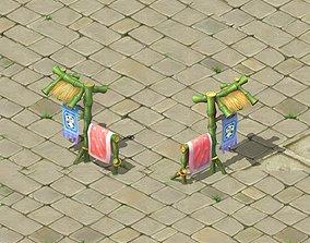3D model Cartoon world - love wife racks