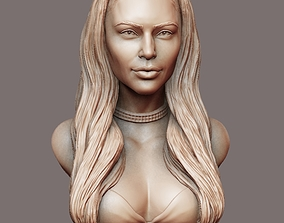 Kim Kardashian sculpture Ready to print