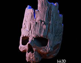 3D model Groot Skull