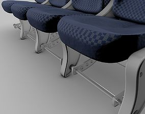Airplane-Seats 3D model