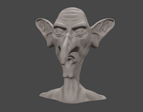 Joseph - the Grumpy 3D printable model