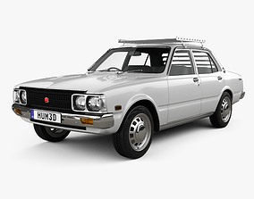 Toyota Corona sedan 1975 3D
