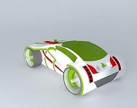 celtic car 3D