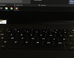 3D model Laptop HP