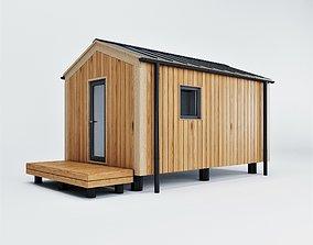 3D model bath Modular house