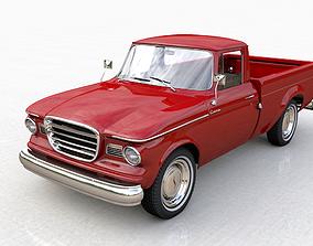 3D model STUDEBAKER CHAMP 1964