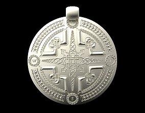 3D print model Celtic compass