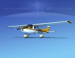 3D Cessna 150 Commuter V03