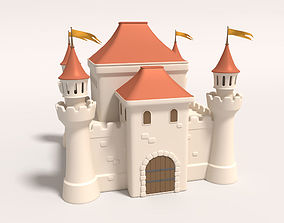fairytale 3D Cartoon Castle