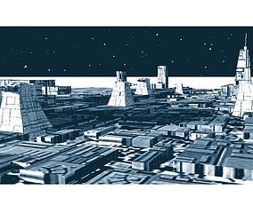 Death star surface - Star Wars 3D