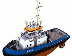 3D Harbour Tug - 01 -