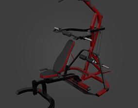 3D model WORKBENCH LEVERGYM-Exercise