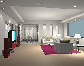 TV Lounge 3D