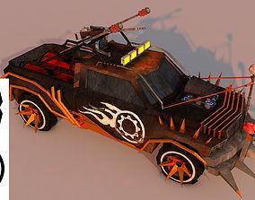 Battle Car 3 3D asset