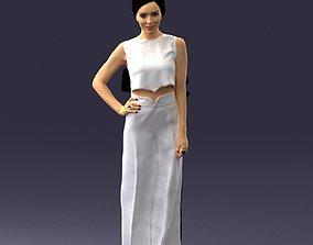 Girl in pose 0148 3D