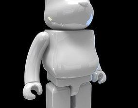figures BearBrick 3D Model